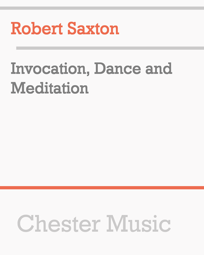 Invocation, Dance and Meditation