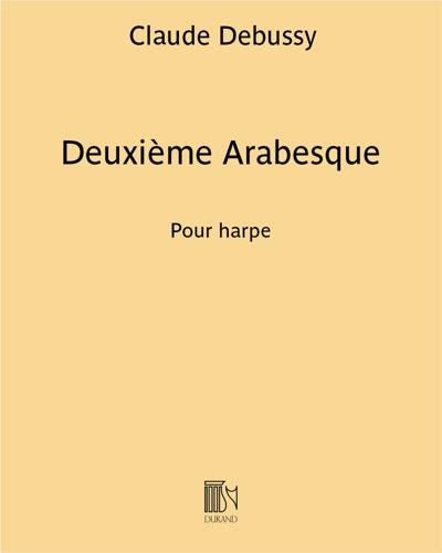Deuxième Arabesque - Pour harpe