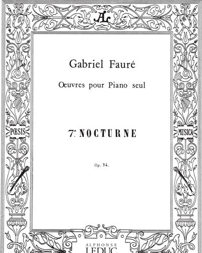 Nocturne No. 7 Op. 74
