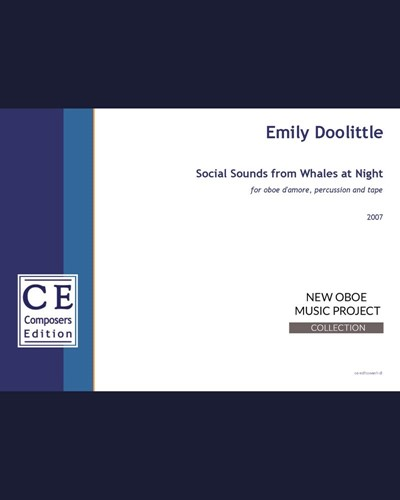 Social Sounds from Whales at Night