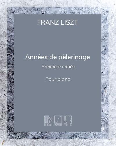 Années de pèlerinage - 1re année (Suisse)