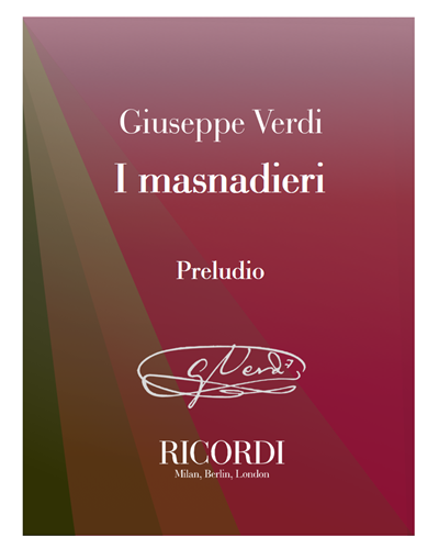 I masnadieri - Preludio