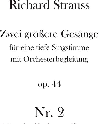 Nächtlicher Gang Op. 44 n. 2