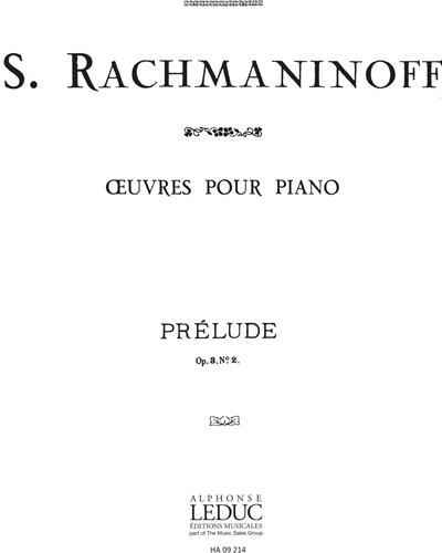 Prélude Op. 3 No. 2