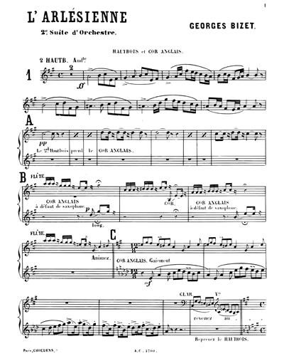 L'Arlésienne Suite n. 2