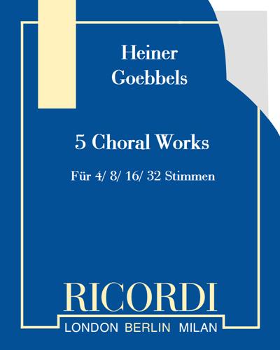 5 Choral Works