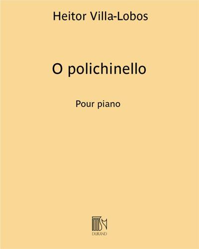 """O polichinello (extrait n. 7 de """"Próle do bébé n. 1"""")"""