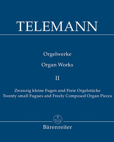 Twenty small Fugues and Freely Composed Organ Pieces