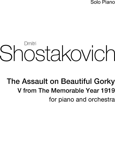 The Assault on Beautiful Gorky