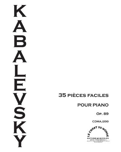 35 pièces faciles, Op. 89