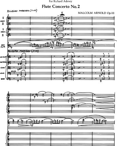 Concerto for Flute No 2