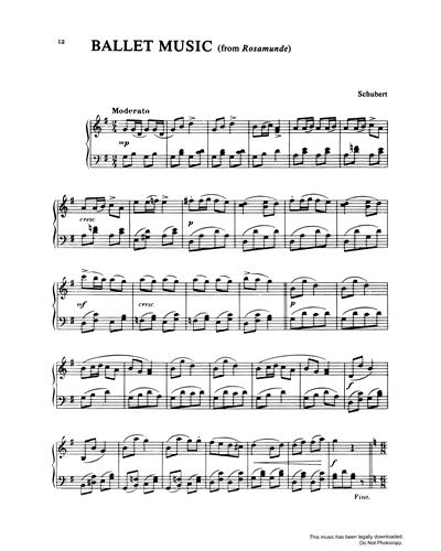 Ballet Music (from Rosamunde)