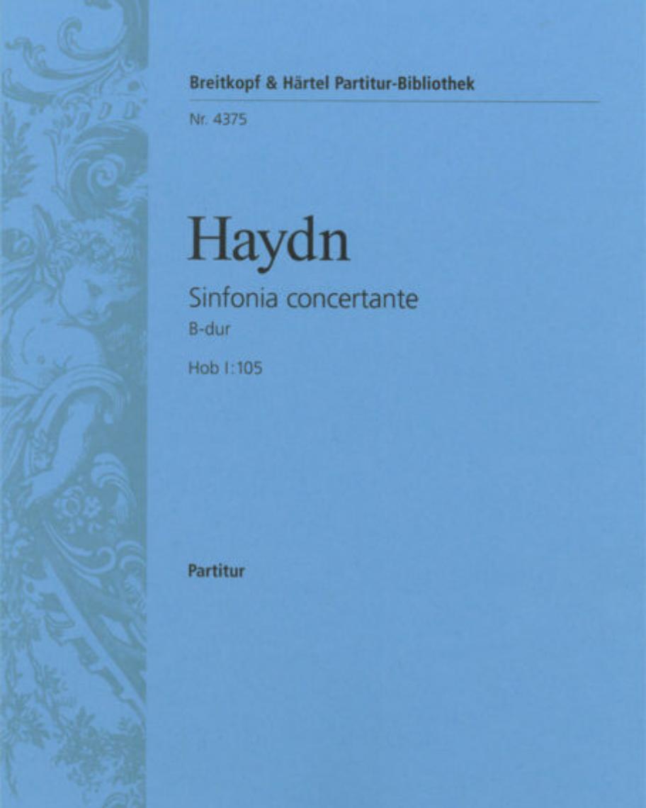 Sinfonia concertante B-dur Hob I:105