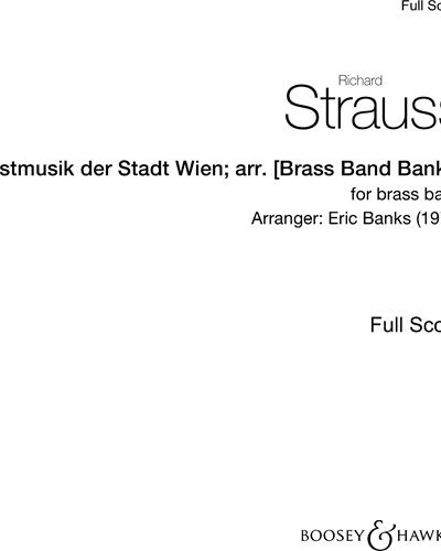 Festmusik der Stadt Wien; arr. [Brass Band Banks]