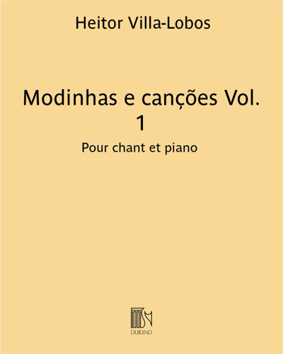 Modinhas e canções Vol. 1