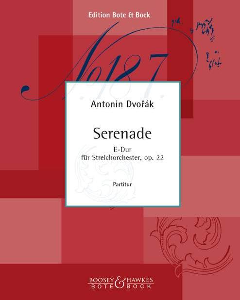 Serenade E major op. 22
