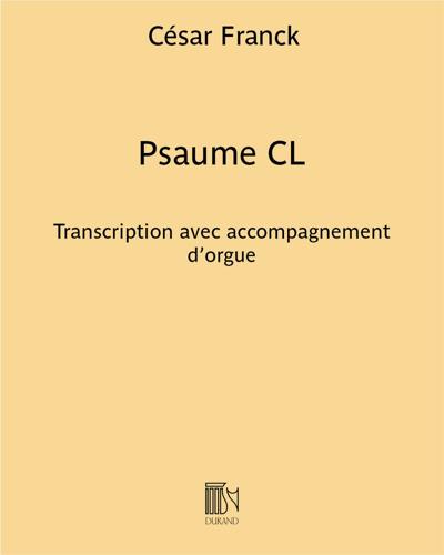 Psaume CL