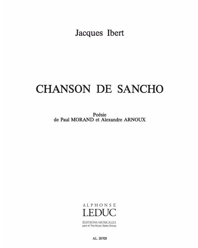 Chanson de Sancho